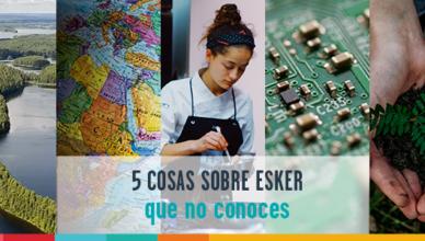 5 datos sobre Esker