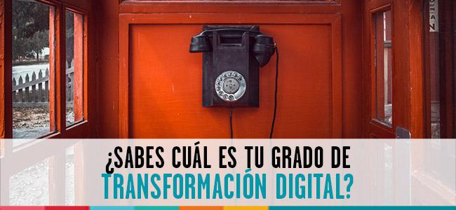 grado de transformación digital