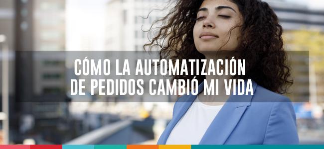 automatización de pedidos